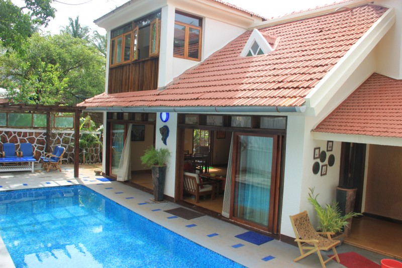 Goa luxury villas photo gallery for Resorts in kodaikanal with swimming pool